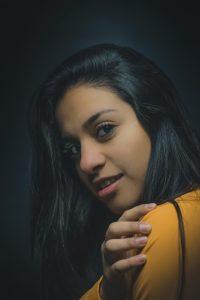 Young Peruvian woman.